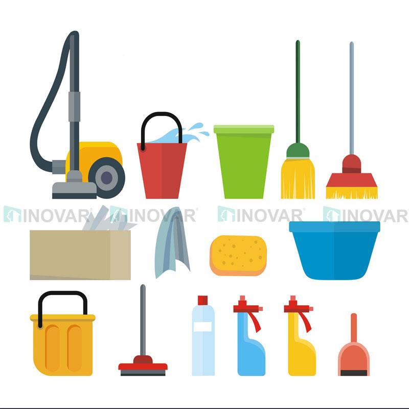 Chuẩn bị vệ sinh sàn nhựa