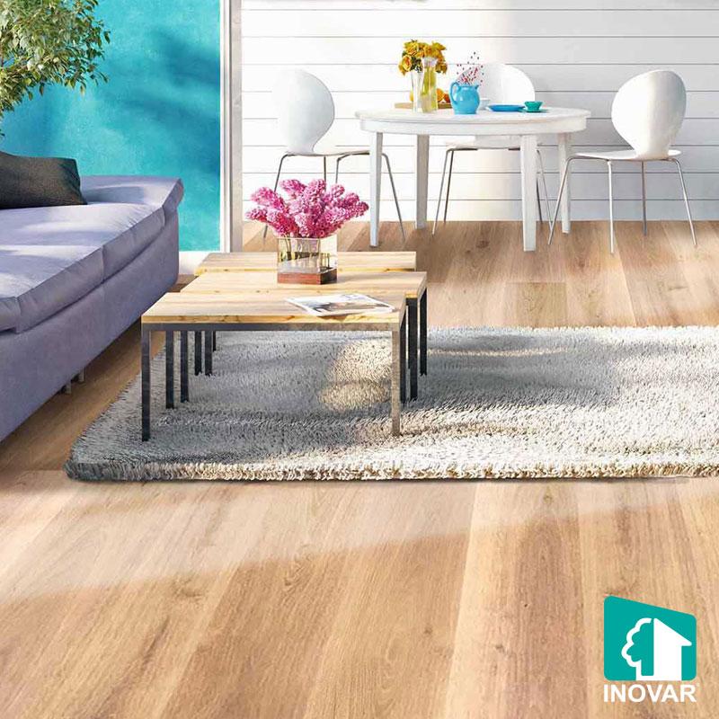Ứng dụng sàn nhựa vân gỗ
