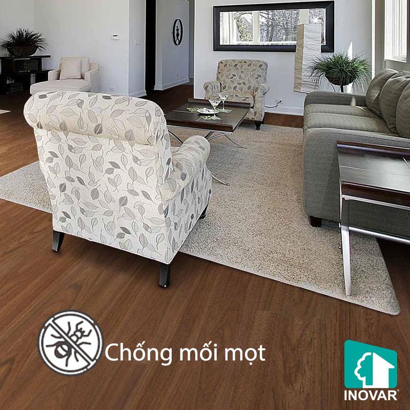 Ưu điểm sàn gỗ công nghiệp chống mối mọt