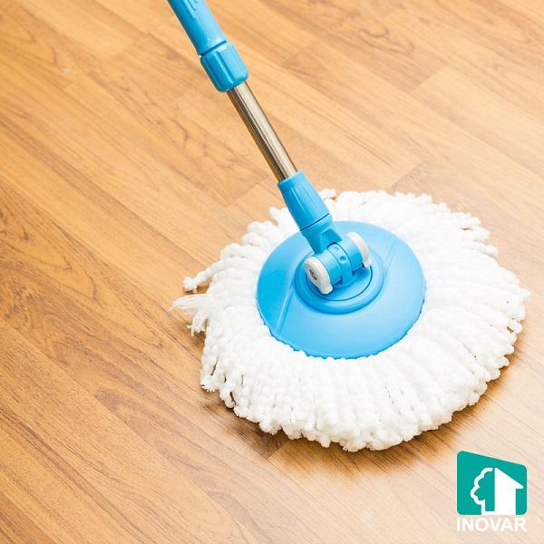 sàn nhựa Inovarcấu tạo dễ dàng vệ sinh